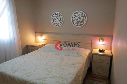 Apartamento Com 3 Dormitórios À Venda, 76 M² Por R$ 400.000,00 - Vila Mussolini - São Bernardo Do Campo/sp - Ap1682