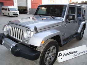 Jeep Wrangler 2018 Unlimited Sahara 4x4 Toldo Rigido$699,000