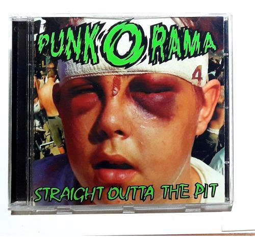 Cd Punk O Rama 4 Compilado 1999 Made In Usa Oka