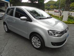 Volkswagen Fox 1.6 Vht I-motion Total Flex 2012 Prata Flex