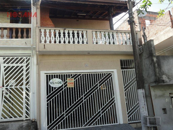 Sobrado Residencial À Venda, Serpa, Caieiras. - So0490