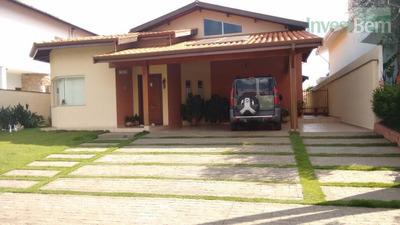 Casa Residencial À Venda, Condomínio Residencial Terras Do Caribe, Valinhos. - Ca0324