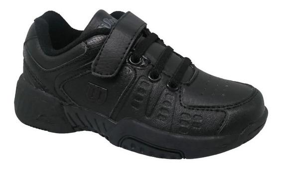 Zapatillas Tenis Infantiles Wilson Colegial 2020 En Raqueton