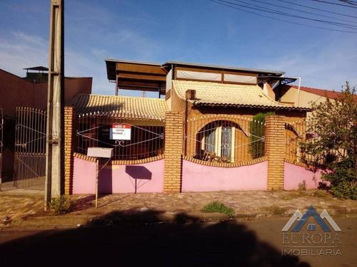 Imagem 1 de 17 de Casa Com 3 Dormitórios À Venda, 190 M² Por R$ 450.000,00 - Lindóia - Londrina/pr - Ca1354