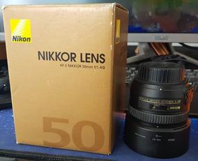 Lente Nikkor Af-s 50mm 1:1.4g