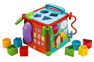 Fisher Price Cubo Juega Y Aprende