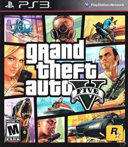 Gta 5 Grand Theft Auto V Ps3   Digital   Juego Original  