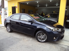 Toyota Corolla Xei 2.0 Flex 2017 Azul Novíssimo!!!