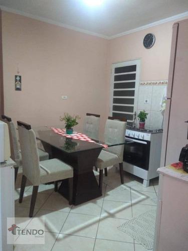 Imagem 1 de 15 de Imob02 - Casa 80 M² - Venda - 2 Dormitórios - Jardim Das Nações - Salto/sp - Ca0741