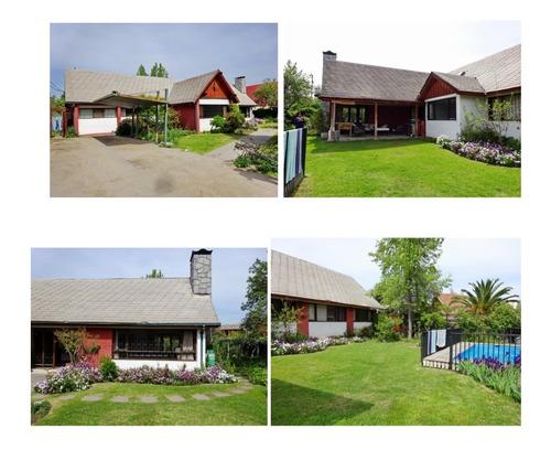 Imagen 1 de 1 de Linda Casa Con Gran Terreno, Apto Para Proyecto Inmobiliario
