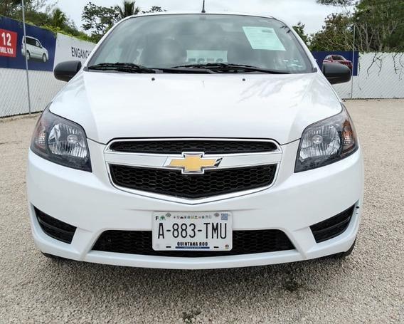 Chevrolet Aveo Lt 2018 Transmisión Estándar Motor 1.6 Lts.