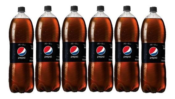 Pepsi Black 2.5 Lts Pack X6