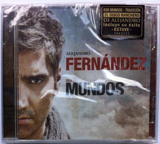 Alejandro Fernández. Dos Mundos. Cd Original, Nuevo