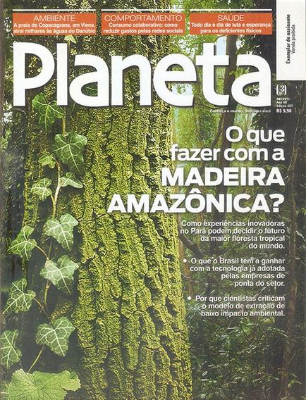 Revista Planeta Ecologia A Madeira Da Amazônia Outubro 2012.