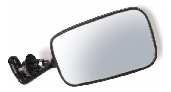 Espejo Lateral Vw Sedan Negro Retrovisor Vocho ( L )
