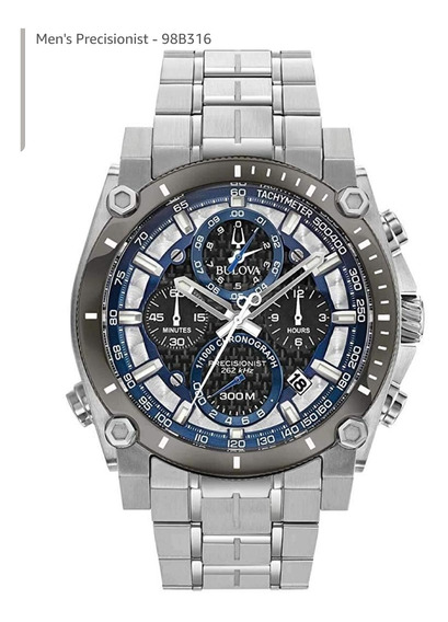 Relógio Bulova Precisionist 98b316 Pronta Entrega Novo