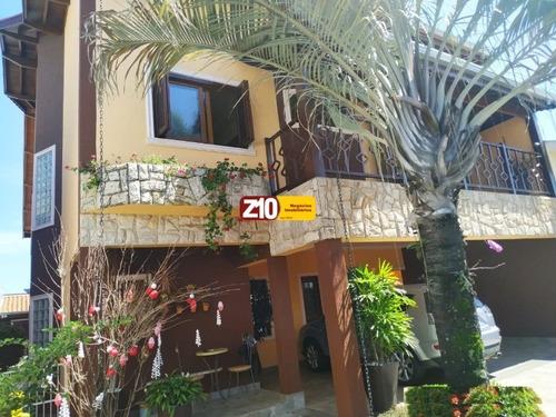 Ca09402 - Sobrado - Jardim Esplanada - At 360m², Ac 270m², 03 Suítes (01 Master C/ Closet E Banheira De Hidromassagem) - Z10 Imóveis - Indaiatuba/sp. - Ca09402 - 69415503