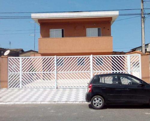 Sobrado De Condomínio Com 2 Dorms, Antártica, Praia Grande - R$ 180 Mil, Cod: 909 - V909