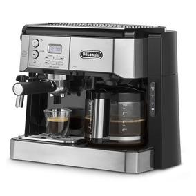 Delonghi Cafetera Combi Filtro Doble Función - Bco421.s