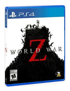 World War Z Ps4 Nuevo Y Sellado 100% Original