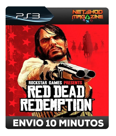 Red Dead Redemption - Psn Ps3 - Envio Imediato