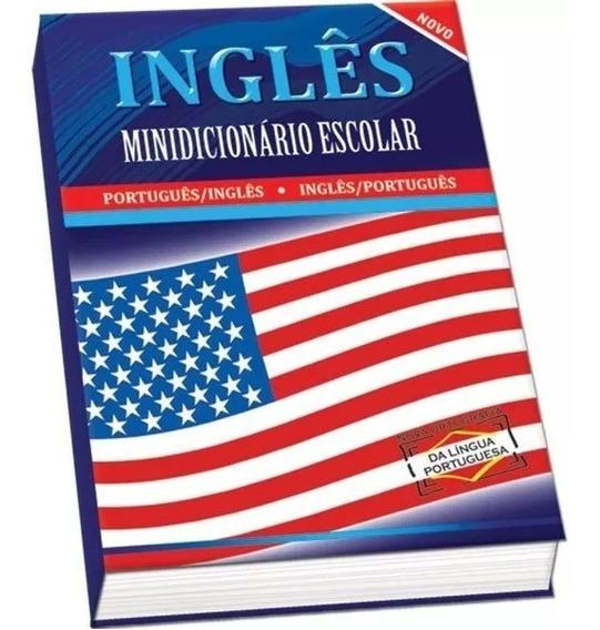 Dicionario Mini Inglês Escolar Compacto 352 Pgs