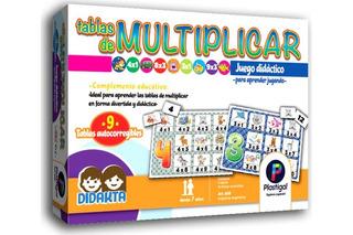 Tablas De Multiplicar Didakta Juego Didactico