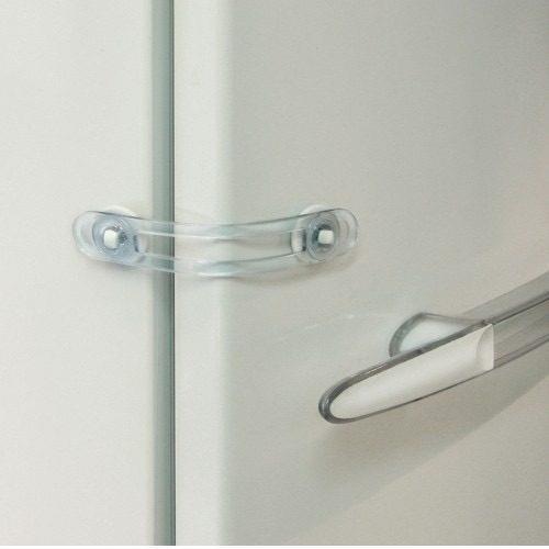 Imagen 1 de 7 de Traba Multiuso Larga Regulable Puertas Ventanas Y Heladera
