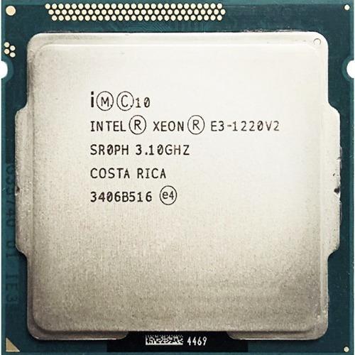 Intel Xeon E3 1220 V2 1155 4/4 - 3,5ghz - Com Garantia