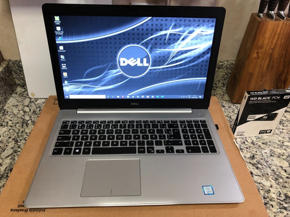 Notebook Dell 5570.256ssd/1.t Hd I5-8gb Ram/ 15,6 Hd