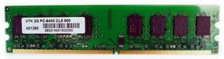 Visiontek 900434 - Memoria Para Escritorio (2 Gb, Ddr2, 800
