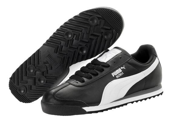 Puma Roma Basic Negro/bco 353572-11