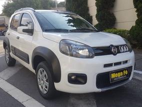 Fiat Uno 1.0 Way 5p Flex 2015 Branco Completo