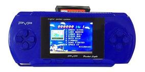 Vídeo Game Portátil Game Player Jogos Inclusos + 2 Cartuchos