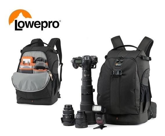 Mochila P/ Câmera Fotográfica Dslr Lowepro Flipside 500 Aw