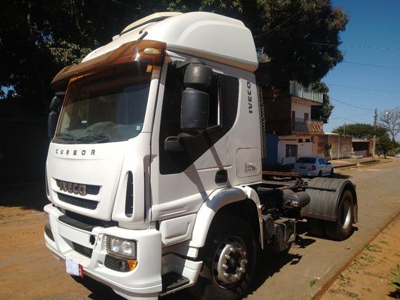 Caminhão Iveco Cursor 450e33t/11 Leito Teto Alto