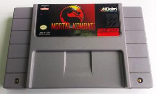 Mortal Kombat Super Nintendo Snes Cartucho Retromex Tcvg
