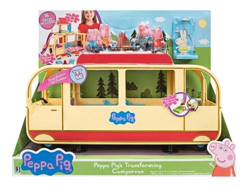 Peppa Pig Playset Van Para Acampar