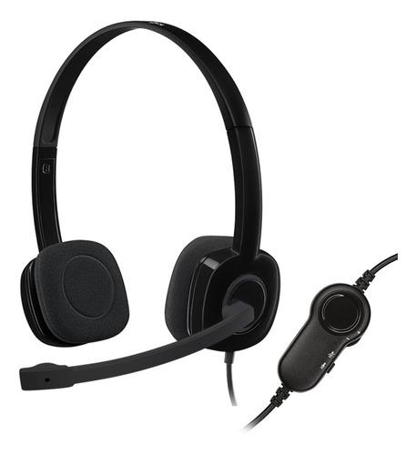 Imagen 1 de 7 de Auriculares Logitech H151 Con Micrófono Oferta