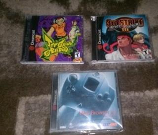 Juegos Dreamcast, Jet Set Radio, Street Fighter 3rd Stricke