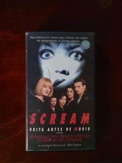 Scream Grita Antes De Morir Vhs Edicion De Renta