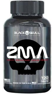 Zma 120caps Black Skull