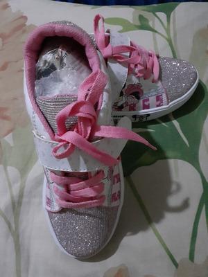 Zapatos De Niña De Mini Color Rosado