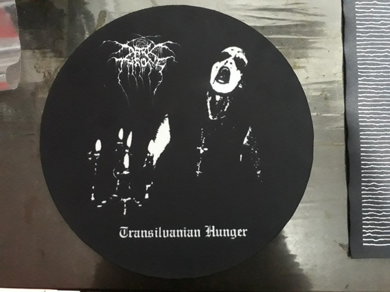 Backpatch Estampado Darkthrone - Transilvanian Hunger 28x28