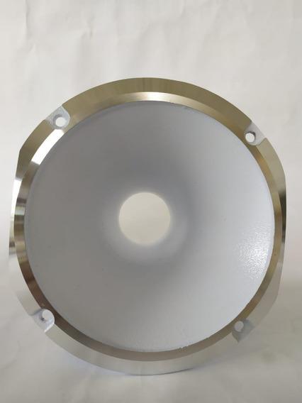 Cone Cromado Curto Parafuso Selenium Jbl D305 D405 Branco