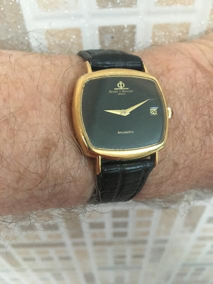Relógio Nivel Omega Ouro 18k Maciço Baume Grandão Pesado