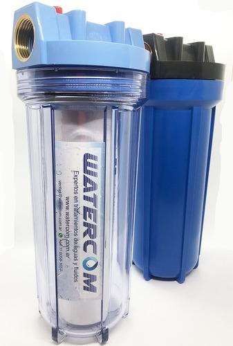 Filtro Triple Con Carbon Activado, Siliphos Y Polipropileno