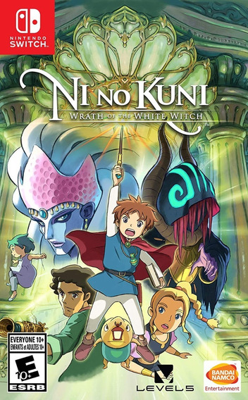 Ni No Kuni - Wrath Of The White Witch - Nintendo Switch