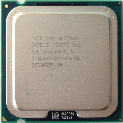 Processador Core 2 Duo E7600 3,06ghz 3mb 1066 775 + Pasta