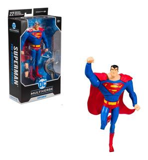 Dc Multiverse Superman The Animated Series Mcfarlane